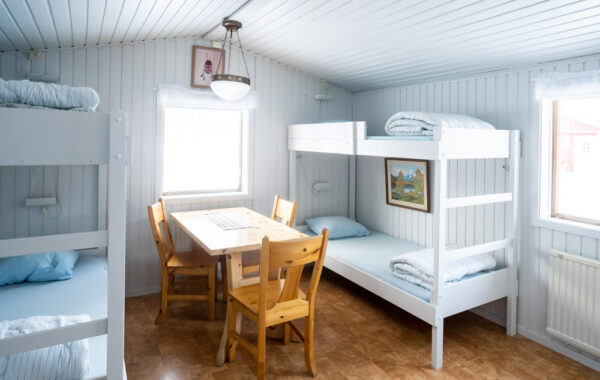 Mountain cabins with 4 beds